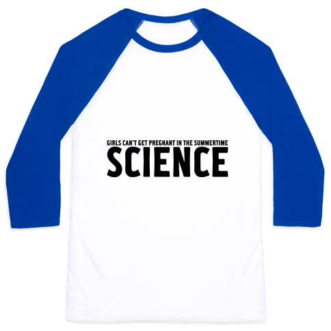 Science Baseball Tee