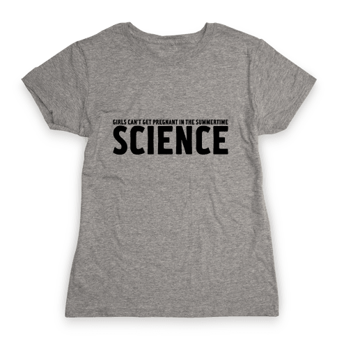 Science Womens T-Shirt