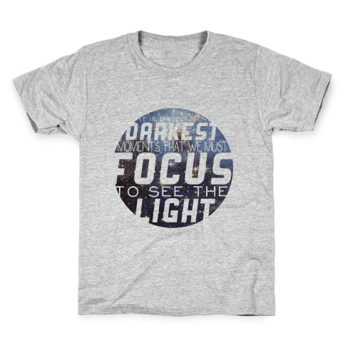 Focus on the Light Tank Kids T-Shirt