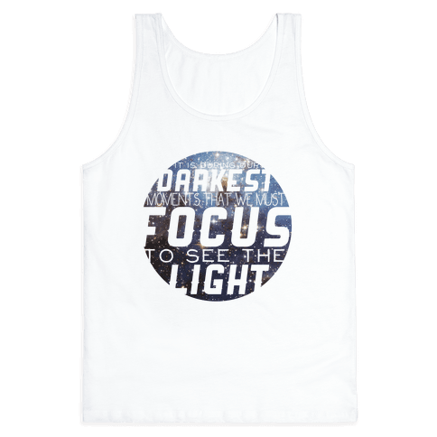 Focus on the Light Tank Tank Top
