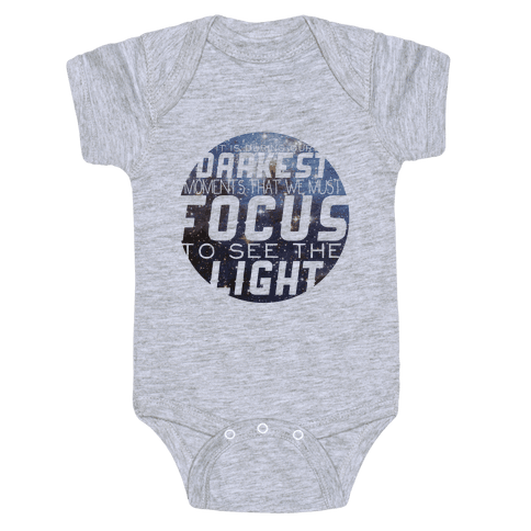 Focus on the Light Tank Baby Onesy