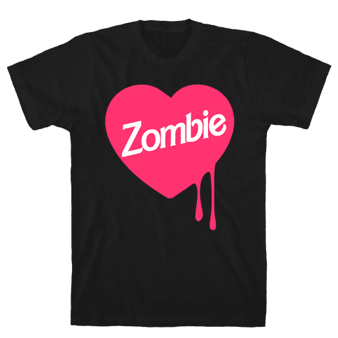 Zombie Doll Mens T-Shirt