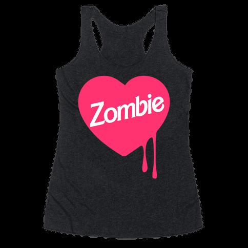 Zombie Doll Racerback Tank Top