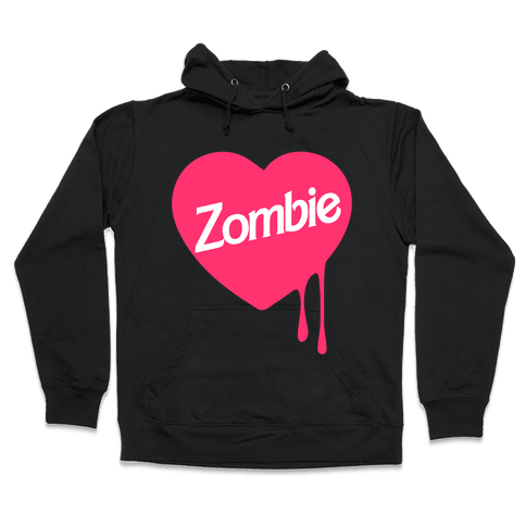Zombie Doll Hooded Sweatshirt