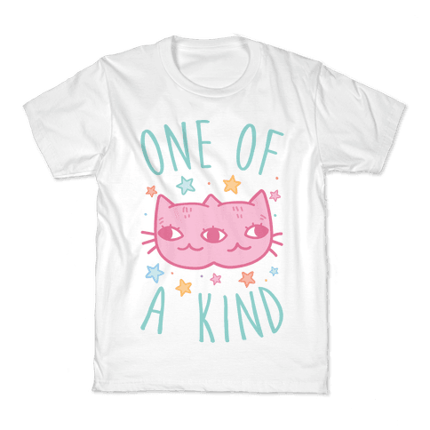 One Of A Kind Cat Kids T-Shirt