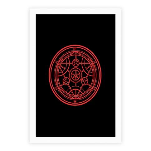 Transmutation Circle Poster