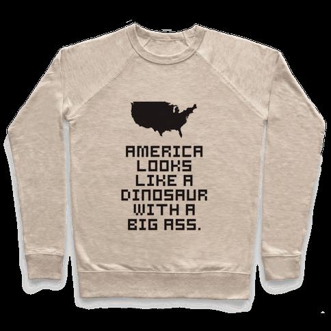 American Dinosaur Pullover