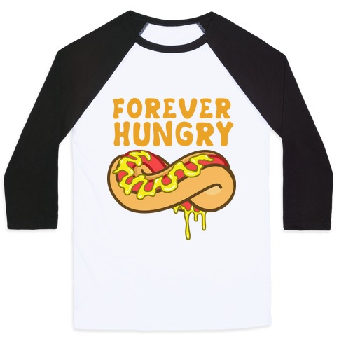 Forever Hungry (Yellow) Baseball Tee