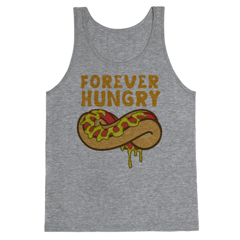 Forever Hungry (Yellow) Tank Top
