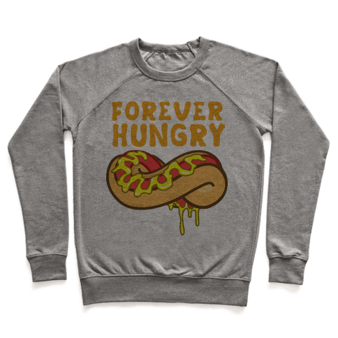 Forever Hungry (Yellow) Pullover