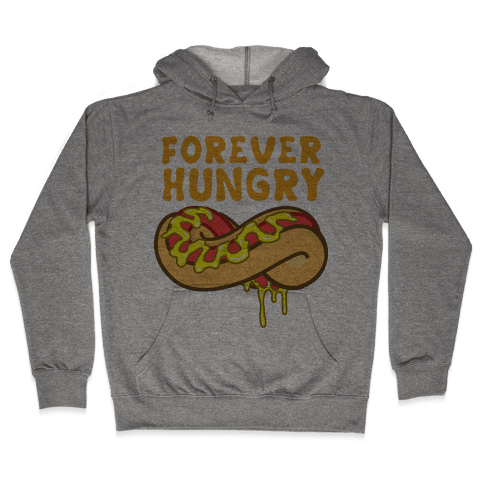 Forever Hungry (Yellow) Hooded Sweatshirt