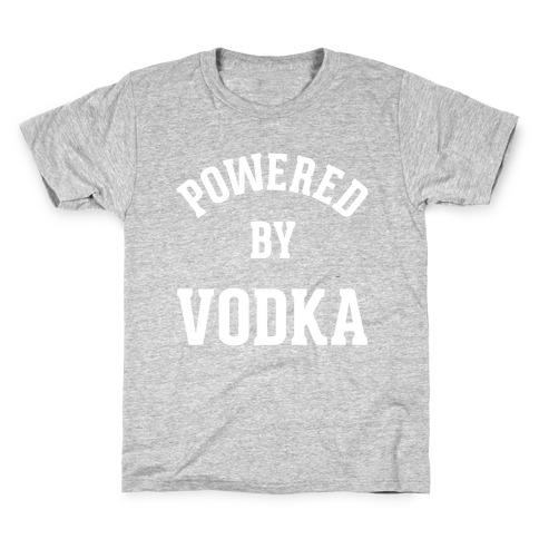 Powered By Vodka Kids T-Shirt