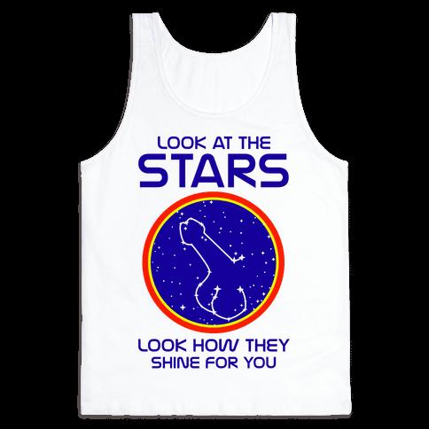 Penis Constellation Tank Top