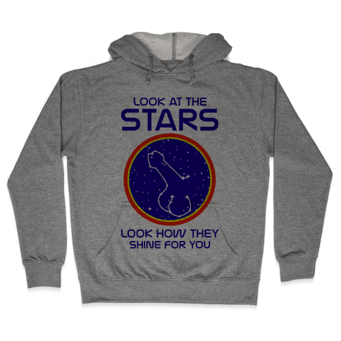 Penis Constellation Hooded Sweatshirt