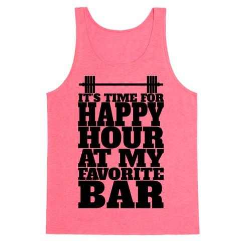 Happy Hour At My Favorite Bar Tank Top