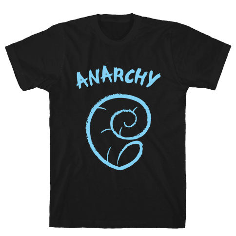 Anarchy Helix Mens T-Shirt