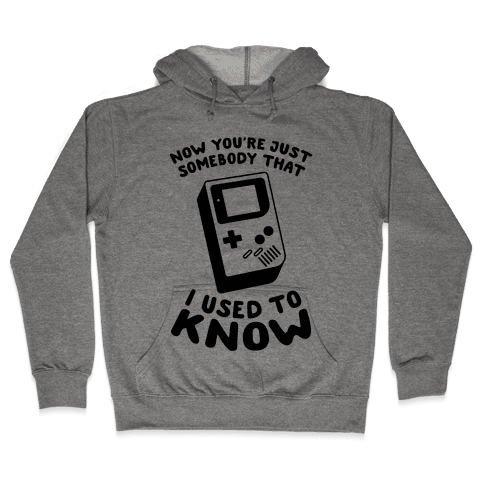 Now You're Just Somebody That I Used To Know Hooded Sweatshirt
