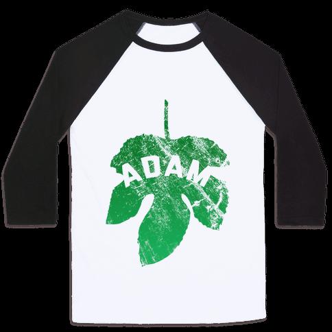 Adam Baseball Tee