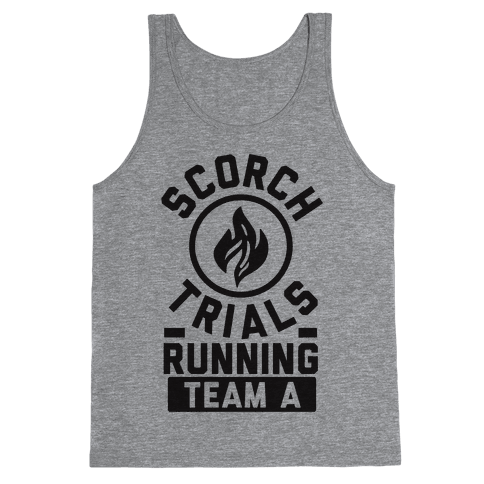 Scorch Trials Running Team A Tank Top