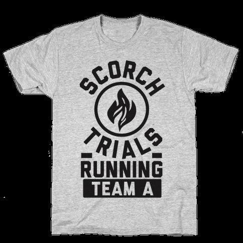 Scorch Trials Running Team A Mens T-Shirt