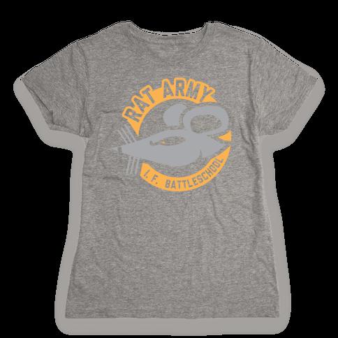Rat Army  Womens T-Shirt
