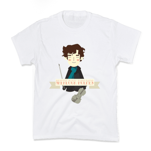 Sherlock Holmes Kids T-Shirt