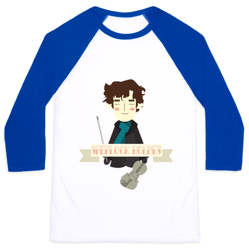 Sherlock Holmes Baseball Tee