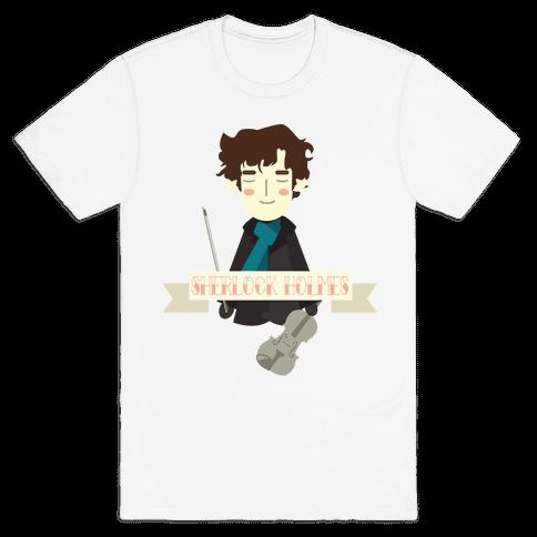Sherlock Holmes Mens T-Shirt