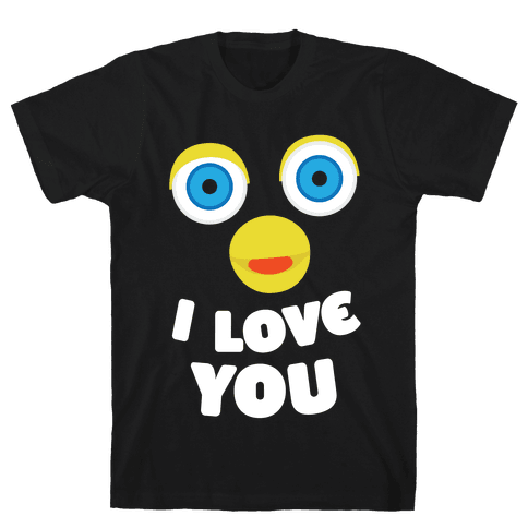 Furby Loves You Mens T-Shirt