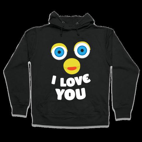 Furby Loves You Hooded Sweatshirt