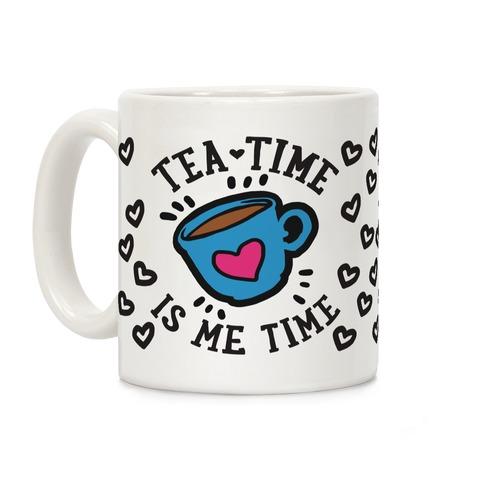 Tea Time Is Me Time Coffee Mug
