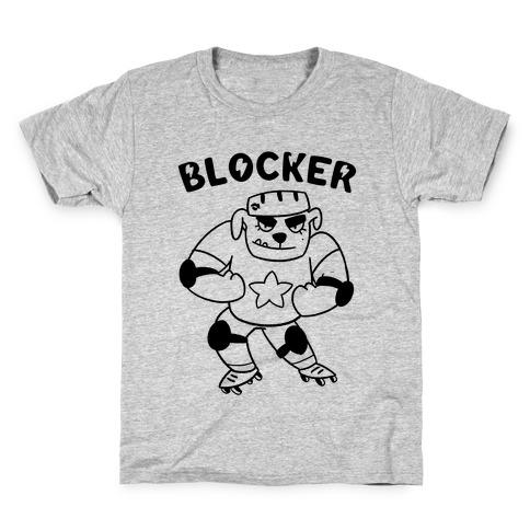 c8559b70565 Blocker (Roller Derby) Kids T-Shirt