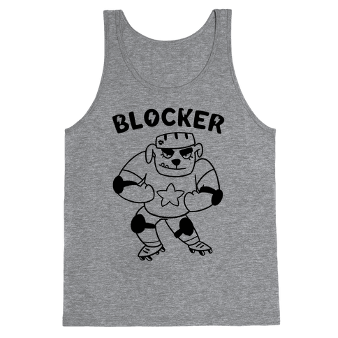 Blocker (Roller Derby) Tank Top
