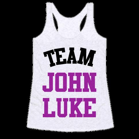 Team John Luke Racerback Tank Top