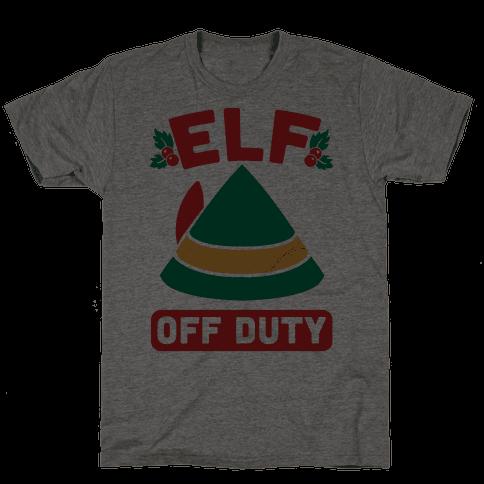 Elf Off Duty Mens T-Shirt