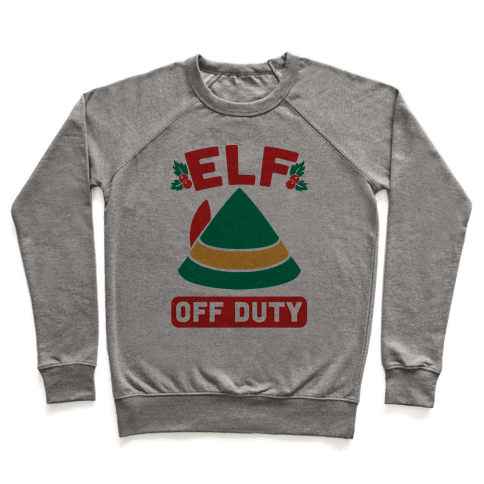 Elf Off Duty Pullover
