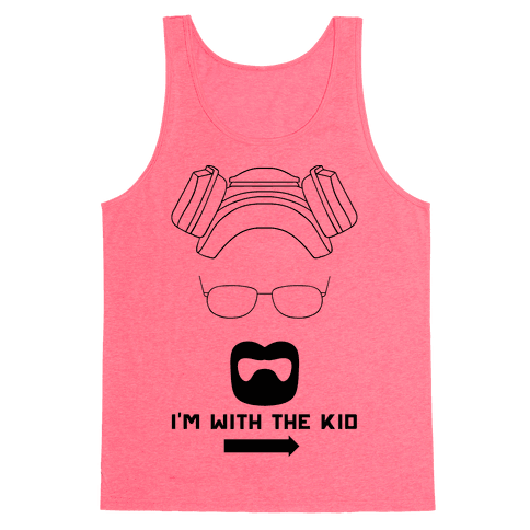 I'm With The Kid. (Walt and Jesse Couples Shirts) Tank Top