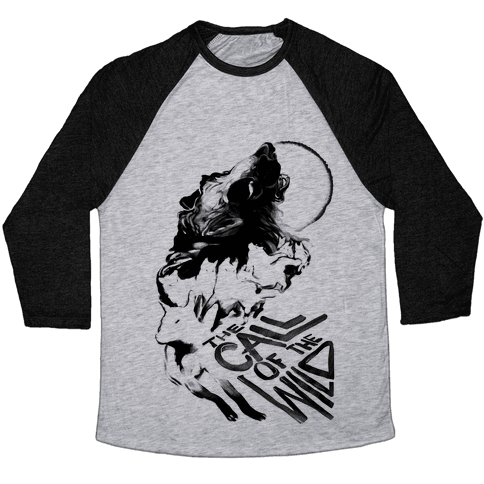 The Call Of The Wild Baseball Tee