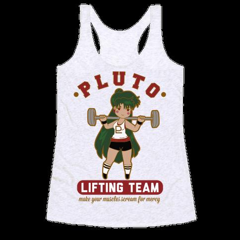 Pluto Lifting Team Parody