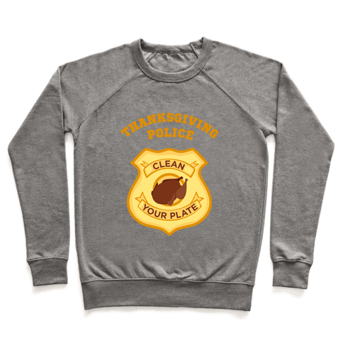 Thanksgiving Police Pullover