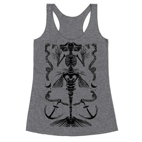 Dead Mermaid Racerback Tank Top