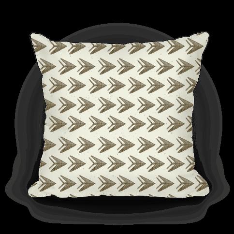 Brown Watercolor Arrow Pattern