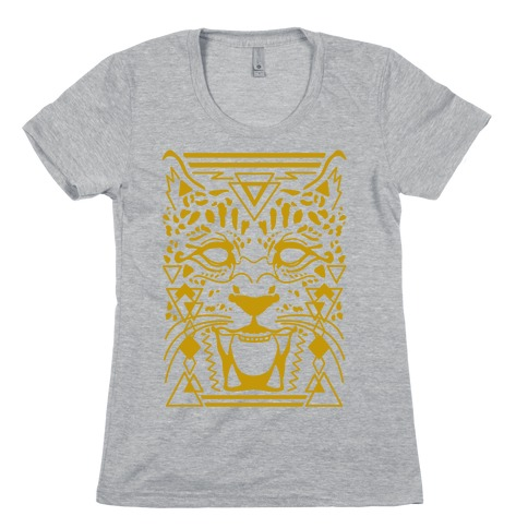 Egyptian Leopard Womens T-Shirt