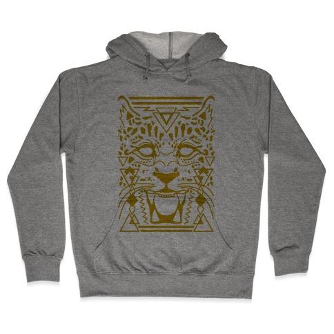 Egyptian Leopard Hooded Sweatshirt