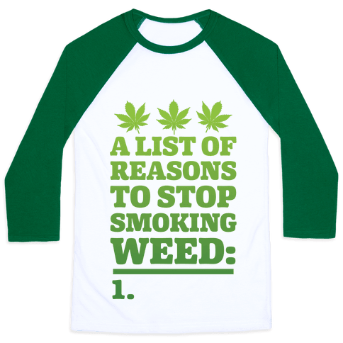 List Of Reasons To Stop Smoking Weed