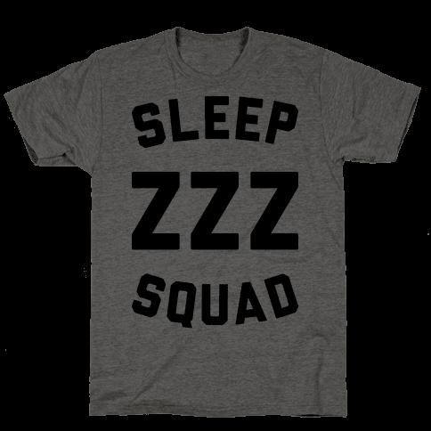 Sleep ZZZ Squad Mens T-Shirt