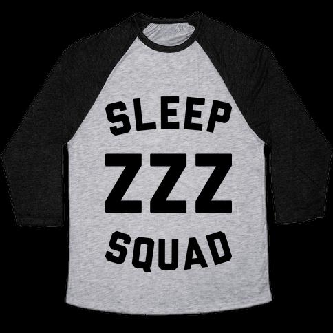 Sleep ZZZ Squad Baseball Tee