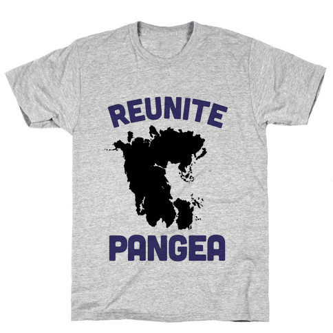 Reunite Pangea Mens T-Shirt