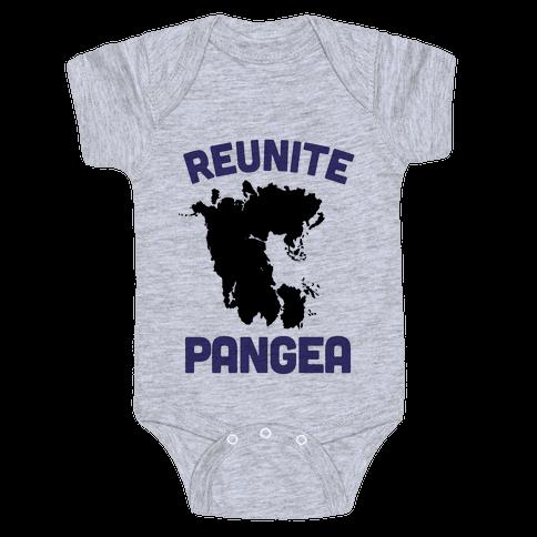Reunite Pangea Baby Onesy