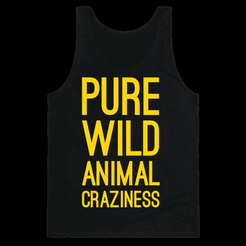 Pure Wild Animal Craziness Tank Top